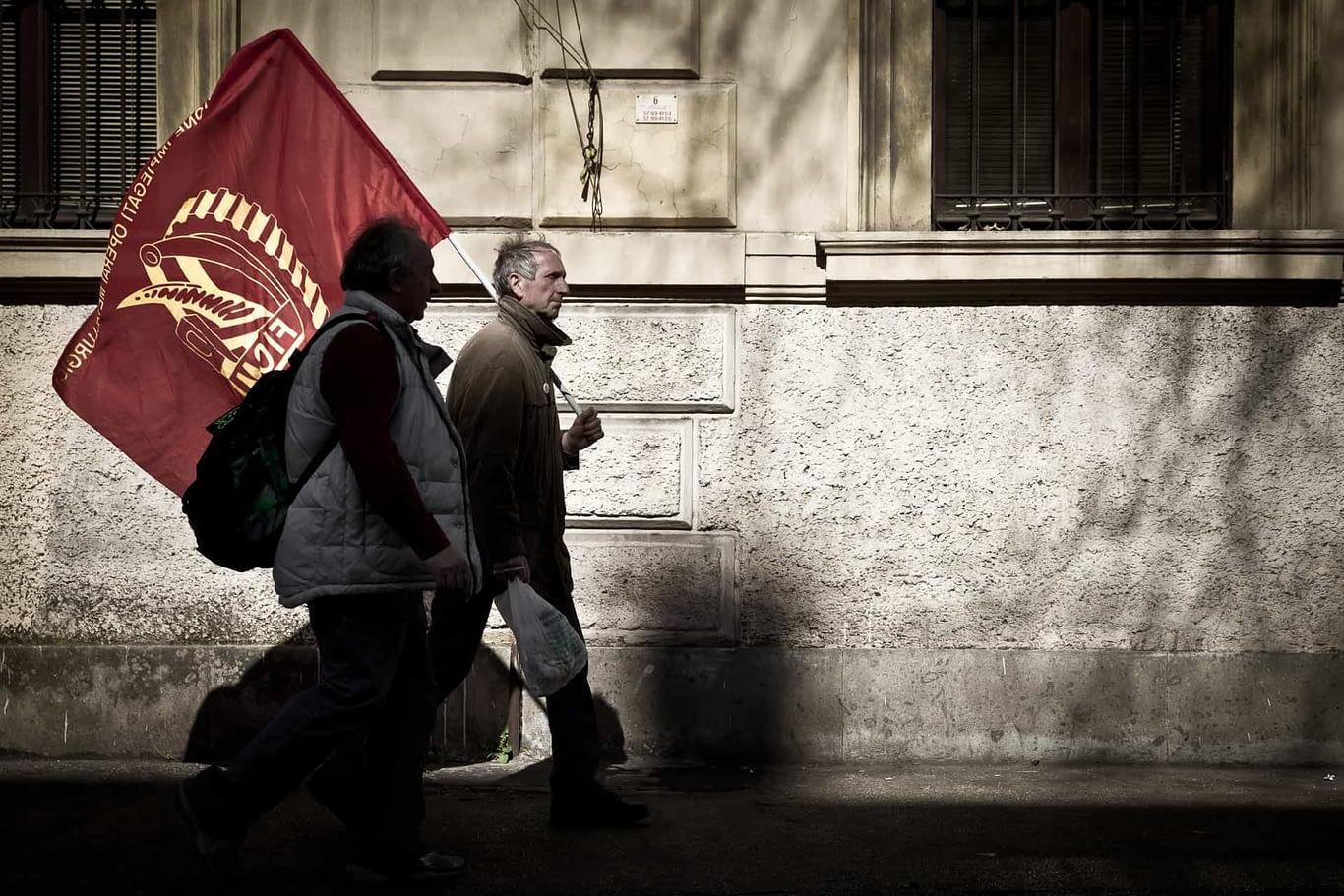 Roma 09 marzo 2013 - Sciopero Generale CGIL-FIOM